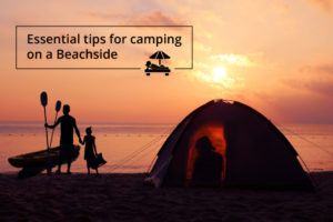 camping beachside