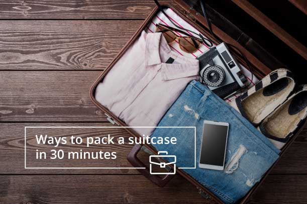 Right Way to Pack Your Suitcase
