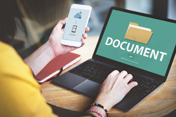 electronic copies of your documents