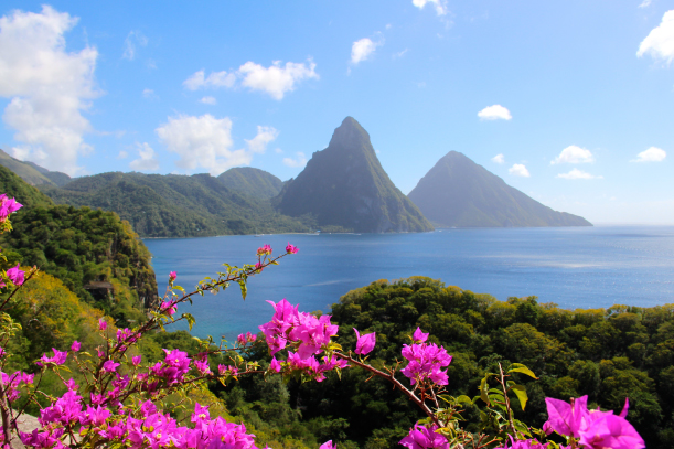 St. Lucia: For a Romantic Getaway